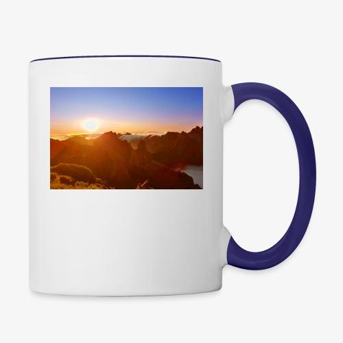 Sunset - Tasse zweifarbig