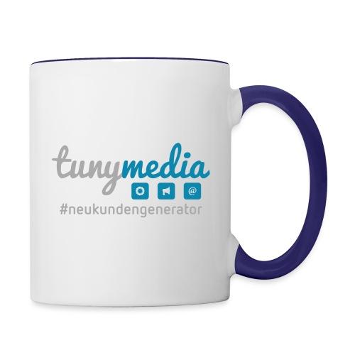 Tunymedia Brand - Tasse zweifarbig