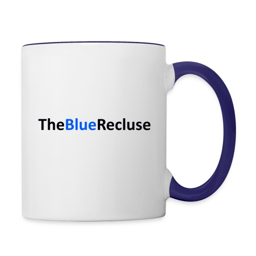 The Blue Recluse png - Contrasting Mug