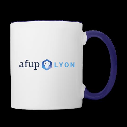 AFUP Lyon - Mug contrasté