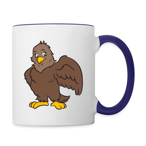 Eagle - Alma - Tasse zweifarbig