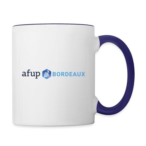 AFUP Bordeaux - Mug contrasté