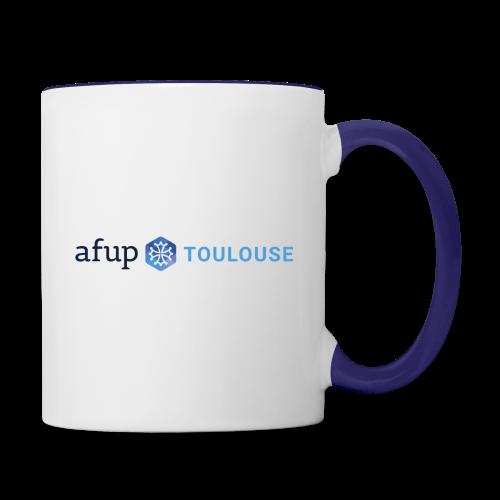 AFUP Toulouse - Mug contrasté