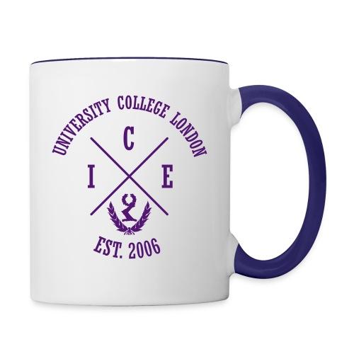 logo inv no line - Contrasting Mug