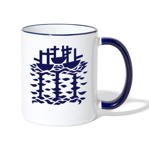 3shipsLogo SallyRoydhouse - Contrasting Mug