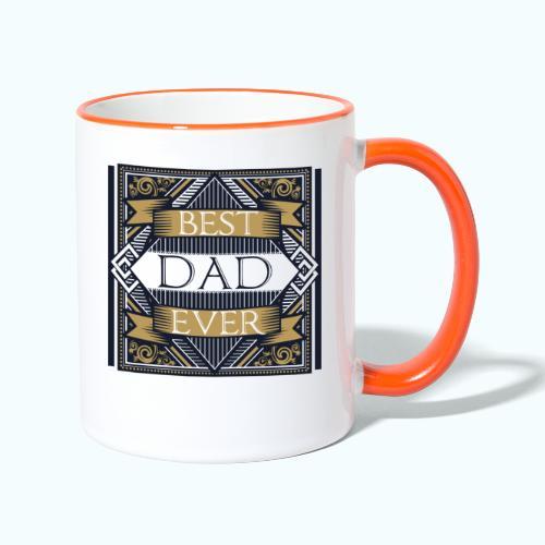 BEST DAD EVER - Contrasting Mug