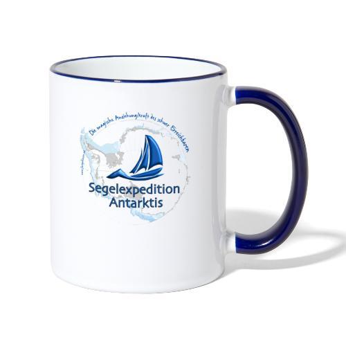segelexpedition antarktis3 - Tasse zweifarbig