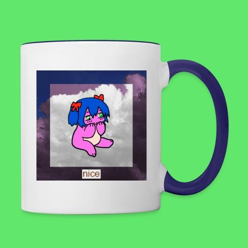 le nice girl - Contrasting Mug