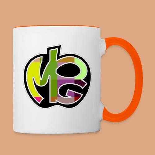 PG Mela Logo - Tazze bicolor