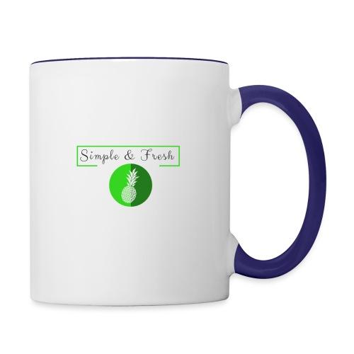 Simple et Fresh - Mug contrasté