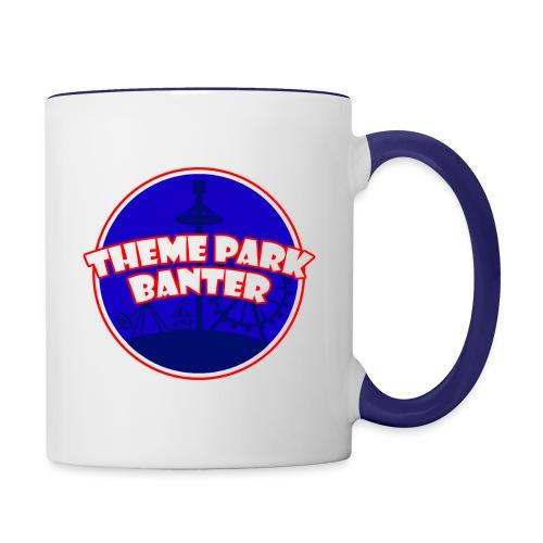 theme park banter logo - Contrasting Mug