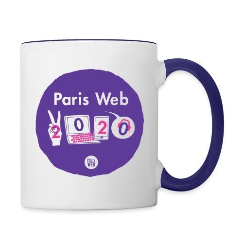 Paris Web 2020 - Mug contrasté