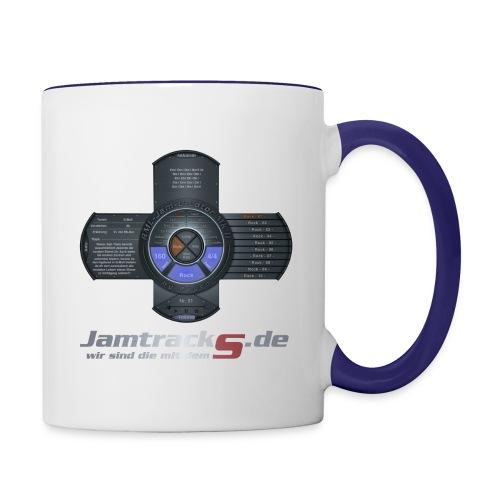 JamtrackS Logo 02 png - Tasse zweifarbig