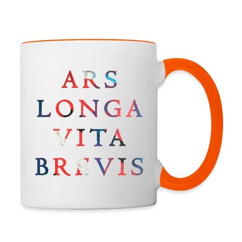 Ars Longa Vita Brevis 20.1 - Tasse zweifarbig