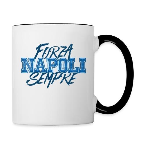 Forza Napoli Sempre - Tazze bicolor