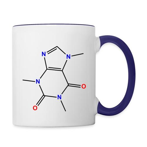 caffeine png - Contrasting Mug