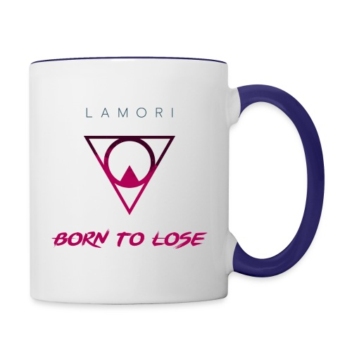 BORN TO LOSE - Contrasting Mug