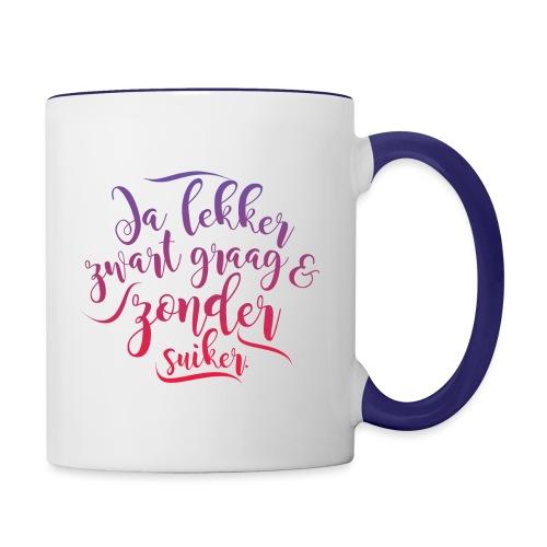 Koffie - Mok tweekleurig