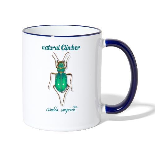 Natural Climber Cicindela - Taza en dos colores