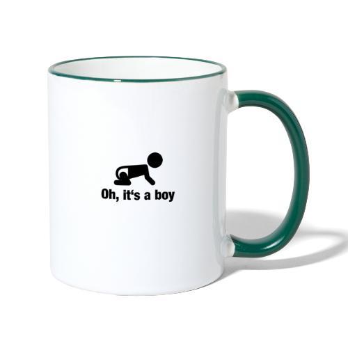 Baby Boy - Tasse zweifarbig