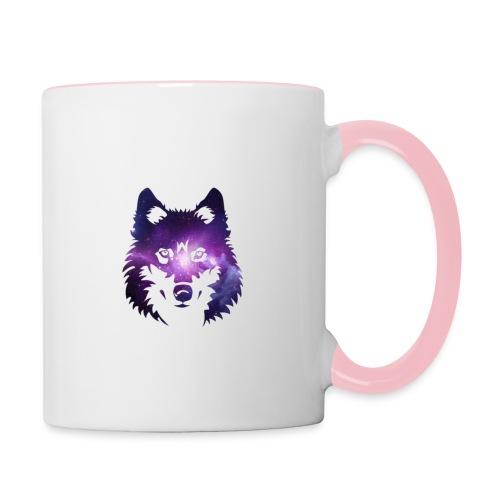 Galaxy wolf - Mug contrasté