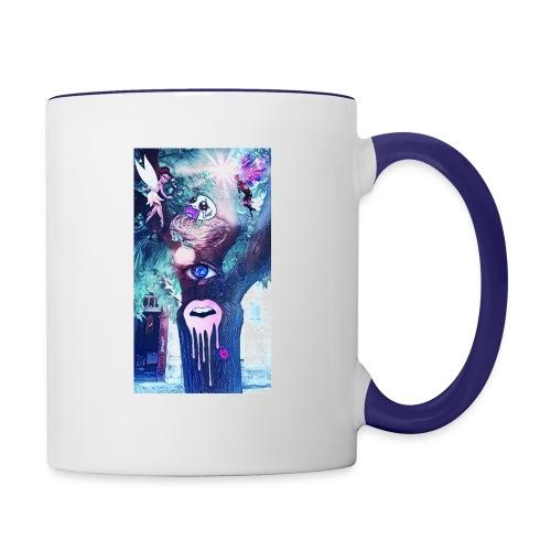 L'arbre des fées - Mug contrasté
