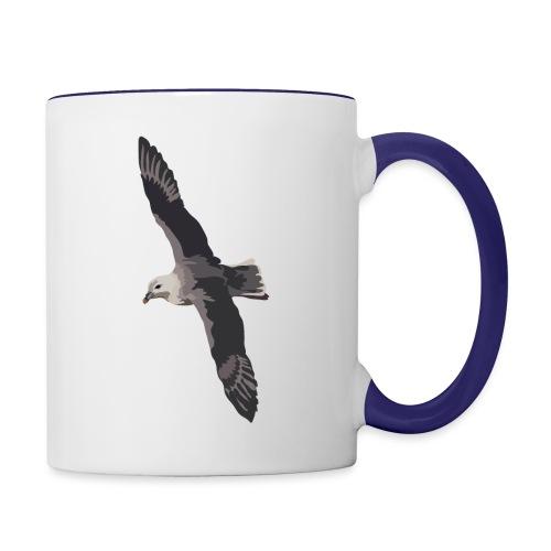 Eissturmvogel - Tasse zweifarbig