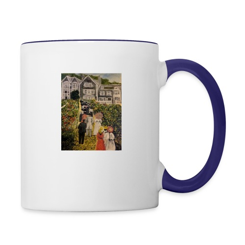 Scottish hotel in the early 19200's - Contrasting Mug