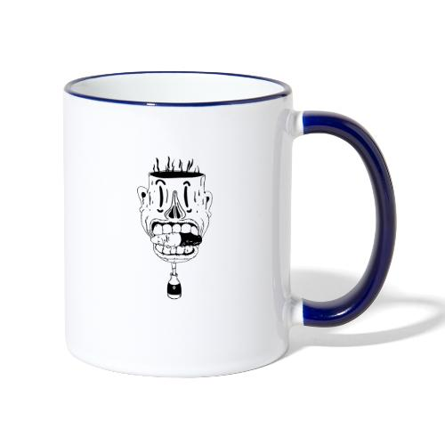 don't take another pill - Contrasting Mug