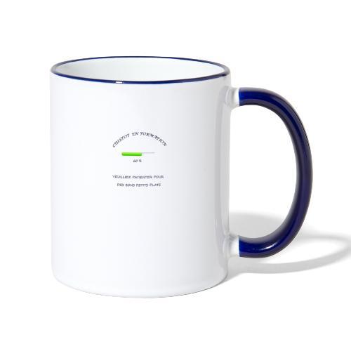 cuistot en formation - Mug contrasté
