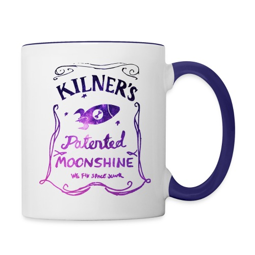 Kilner's Patented Moonshine (Stars Outline) - Contrasting Mug
