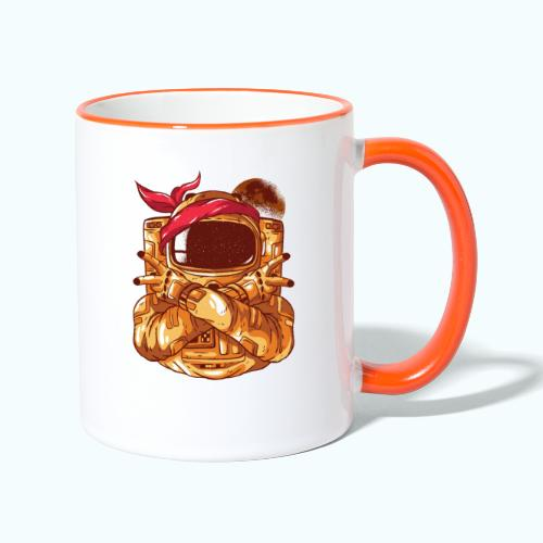Rebel astronaut - Contrasting Mug