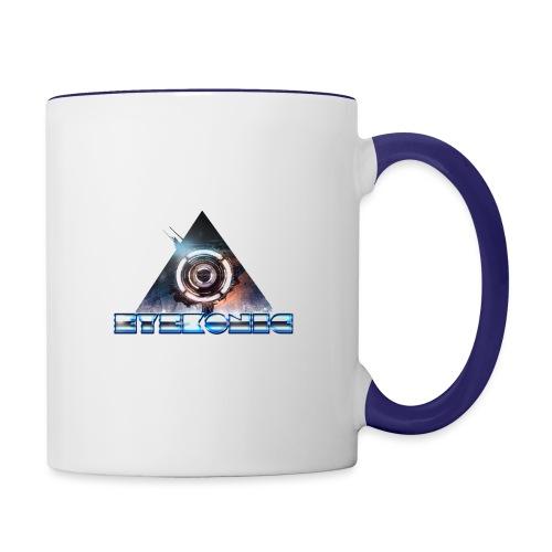 Logo Design - Contrasting Mug