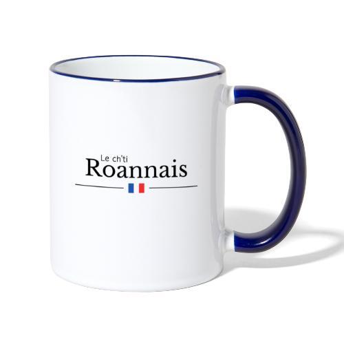Le ch'tit Roannais - Mug contrasté