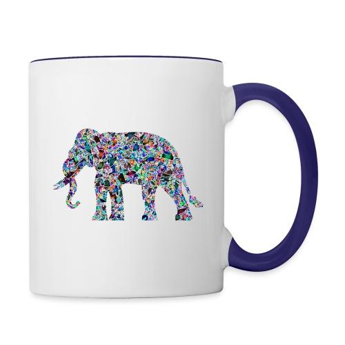 Elephant - Contrasting Mug