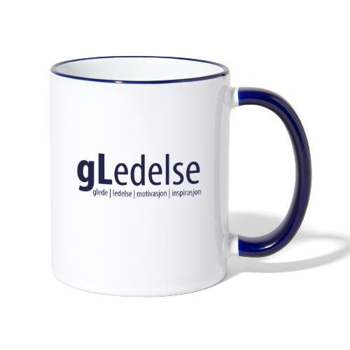 gLedelse - Tofarget kopp