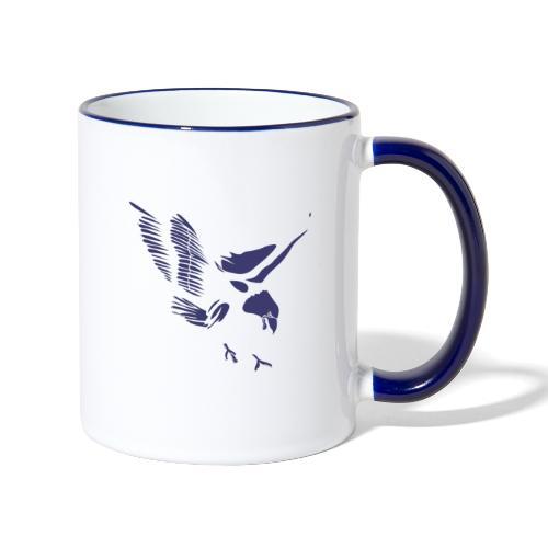 Aquila blu ed accessori - Tazze bicolor