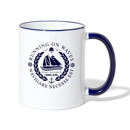 RUNNING ON WAVES - Contrasting Mug