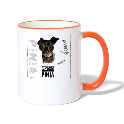 Psycho Pinia - Tasse zweifarbig