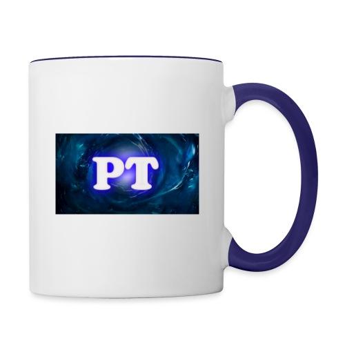 Project T Logo - Contrasting Mug