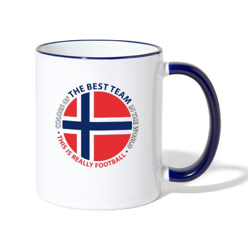 Norway Best Football Team - Contrasting Mug