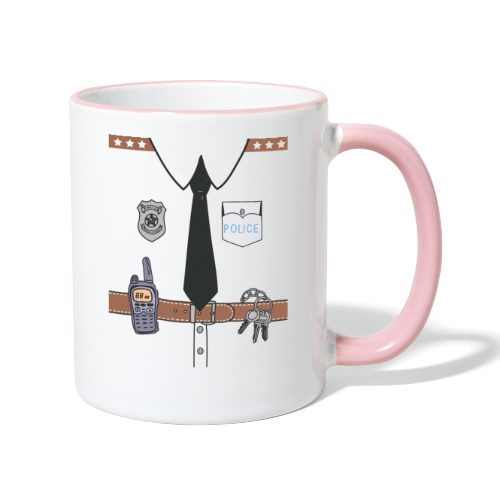 Funny Cute Uniform - Contrasting Mug