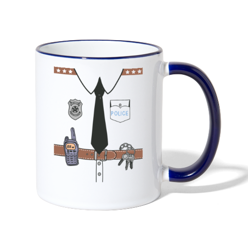 Funny Cute Uniform - Contrasting Mug