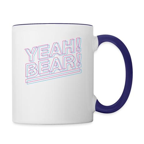 Yeah Bear Layers - Tasse zweifarbig