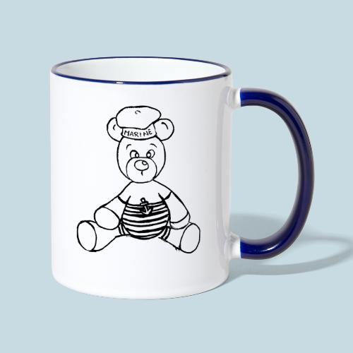 Seebär - Tasse zweifarbig
