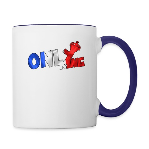 Logo ONLY KING edition francaise - Mug contrasté