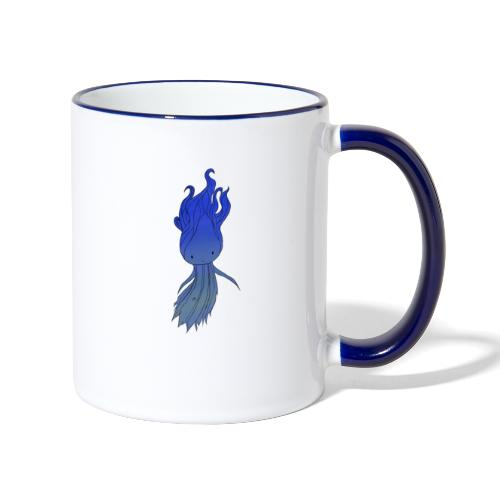 Blue Nymph - Tofarvet krus