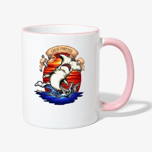 König des Ozeans - Tasse zweifarbig