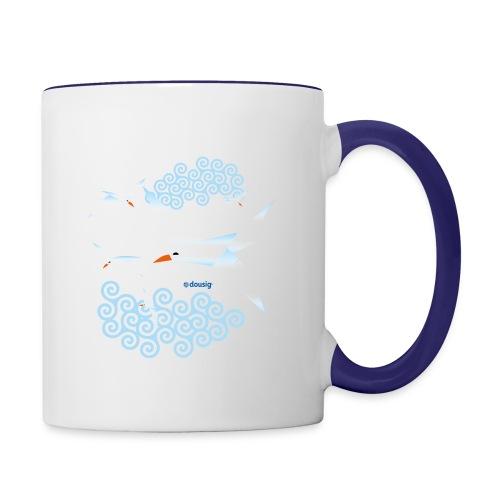 Mouettes dousig - Mug contrasté