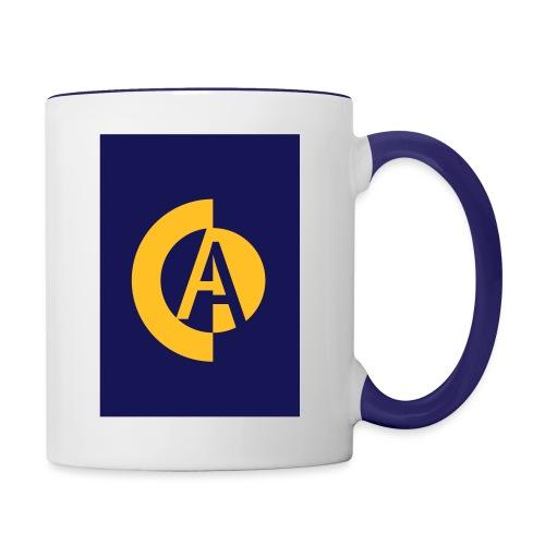 logo_vecto_dos - Mug contrasté
